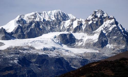 INDIE / sikkim / rejon Kangdzendzongi / Sikkimski Giewont
