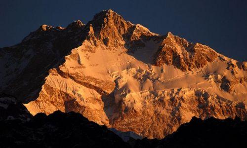 INDIE / sikkim / rejon Kangdzendzongi / 14.I znów o poranku – Kangdzendzonga
