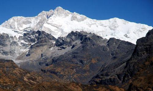 INDIE / sikkim / rejon Kangdzendzongi / Kangdzendzonga – w drodze z Dzongri do Thangshing