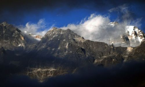 INDIE / sikkim / rejon Kangdzendzongi / Sikkimska impresja