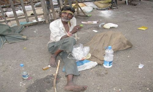 INDIE / Bengal Zachodni / Kalkuta / posiłek