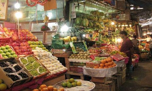 INDIE / Bengal Zachodni / Kalkuta / targ