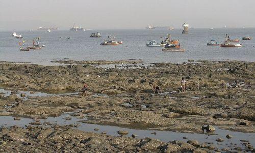 Zdjęcie INDIE / Maharastra / Bombaj / odpływ