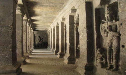 Zdjęcie INDIE / Maharastra / Ellora / świątynia Kailasa