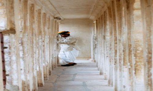 Zdjecie INDIE / Rajahstan / Jodhpur, pałac / Jodhpurska melancholia