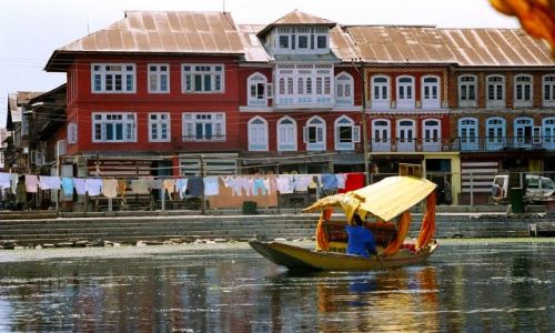 Zdjecie INDIE / Kaszmir / Srinagar / jezioro Srinagar