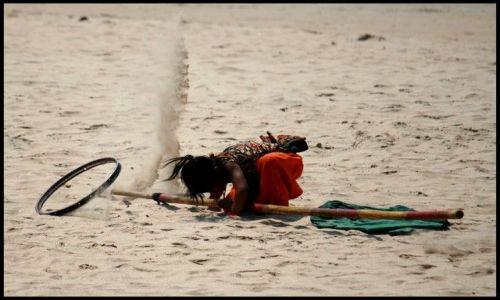 Zdjęcie INDIE / Goa / Palolem / piaszczyste ladowanie