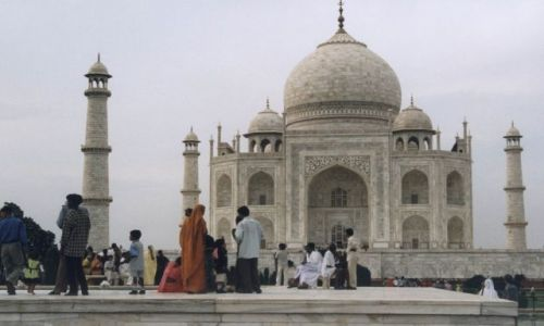 Zdjęcie INDIE / brak / Taj Mahal / Taj Mahal bez filtra :)
