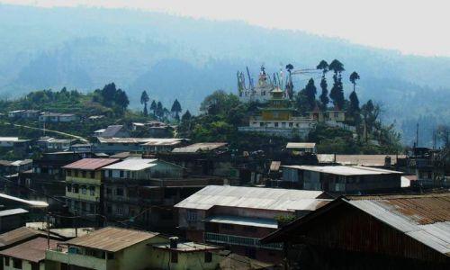 INDIE / Bengal Zachodni / trekking Sandakphu / wioska Manebhanjang - punkt startowy