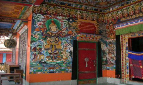 INDIE / Sikkim / Rumtek / buddyjski klasztor