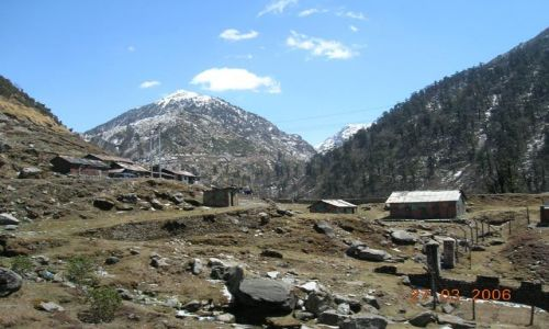 INDIE / Sikkim / Tybet / droga do Tsomgo Lake