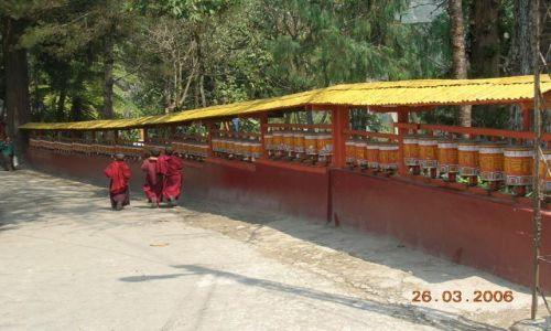 Zdjecie INDIE / Sikkim / Gangtok / klasztor Enchey