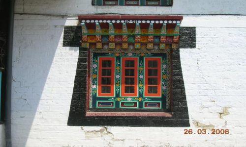 INDIE / Sikkim / Gangtok / klasztor Enchey