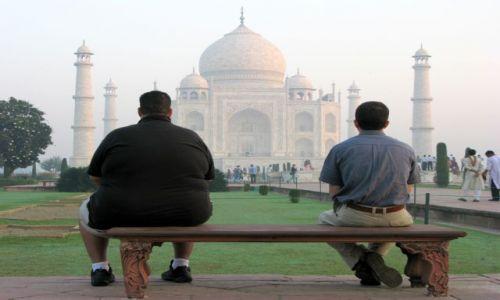 Zdjecie INDIE / brak / Agra / Tadź Mahal