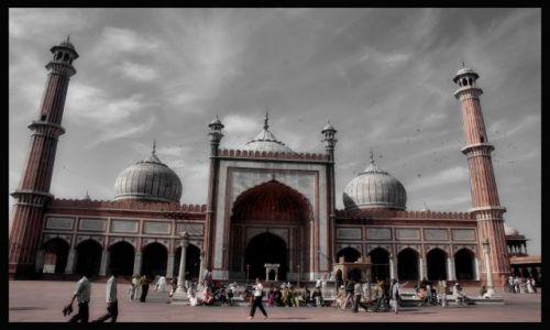 Zdjecie INDIE / Delhi / Delhi / Jama Masjid