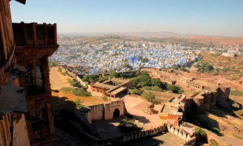 Zdjecie INDIE / Rajastan / Jodhpur / z fortu