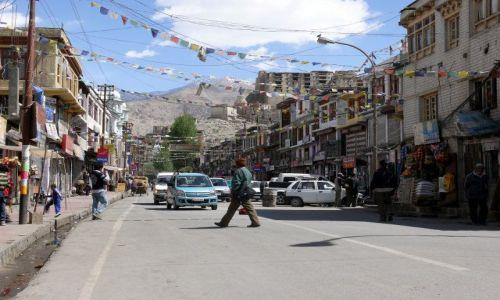 INDIE / Ladakh / Leh / ulice Leh