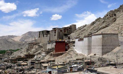 INDIE / Ladakh / Leh / ruiny Leh Palace