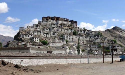 INDIE / Ladakh / Himalaje / Klasztor Buddyjski
