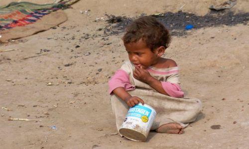 Zdjecie INDIE / Bihar / Bodhgaya / dziecko