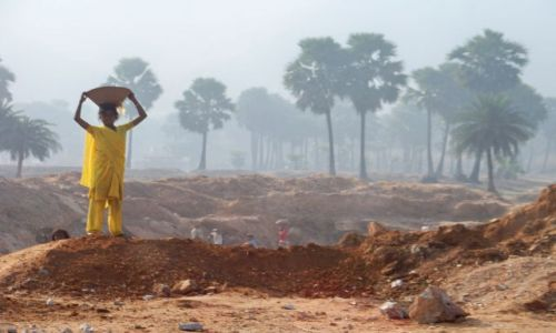 Zdjęcie INDIE / Bihar / Silłej Tsal  / Kobieta