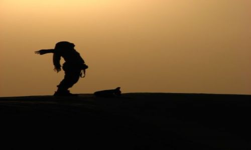 Zdjęcie INDIE / Rajastan / pustynia / ..wolność