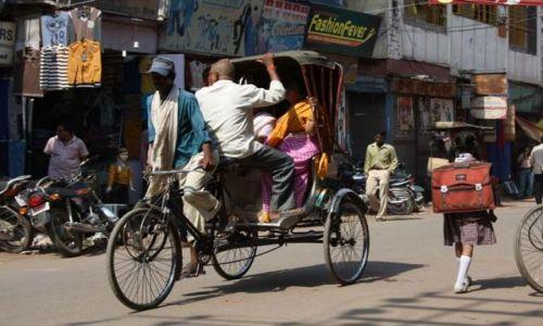 Zdjecie INDIE / brak / varanasi / transport