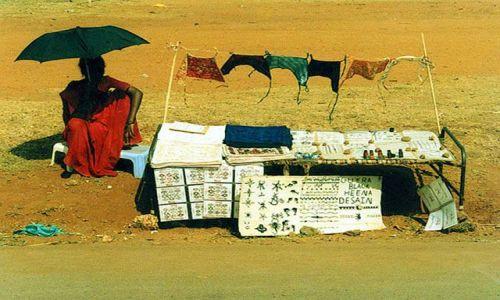 INDIE / brak / Goa / bazar na Goa