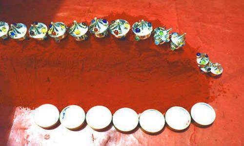 Zdjęcie INDIE / brak / Haridwar / pigmenty