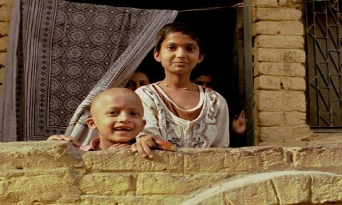 INDIE / Rajasthan / Jaipur / dzieci Rajasthanu