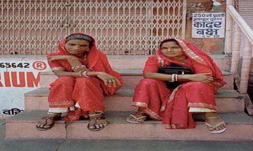 INDIE / Rajasthan / Jaipur / Kobiety Rajasthanu