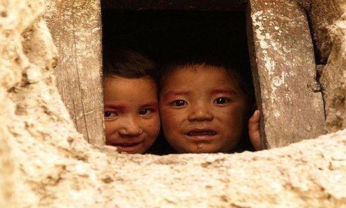 Zdjecie INDIE / Dolina Ladakh, tzw. Mały Tybet / Leh / Okno na świat