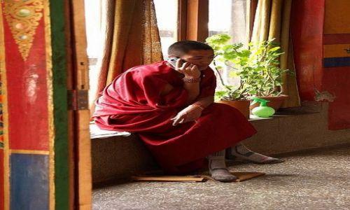 Zdjecie INDIE / Dolina Ladakh, tzw. Mały Tybet / Jeżeli dobrze pamiętam: klasztor Hemis / Stare i nowe...
