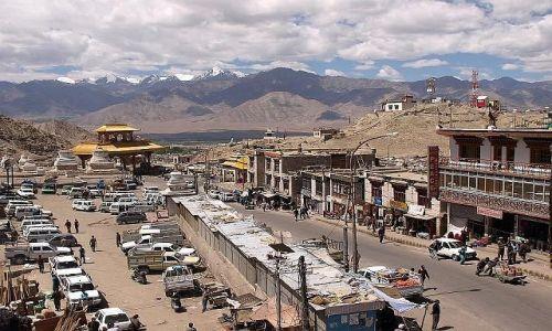 Zdjęcie INDIE / Dolina Ladakh, tzw. Mały Tybet / Leh / Leh - stolica Małego Tybetu