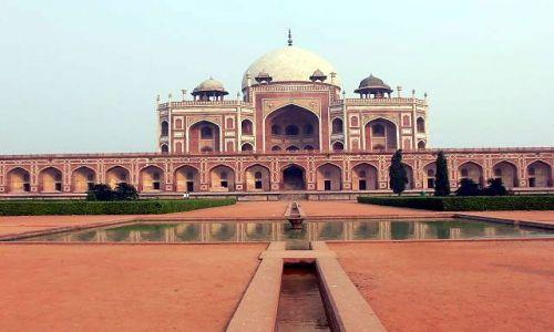 Zdjecie INDIE / Indie / Delhi / Mauzoleum Humajuna