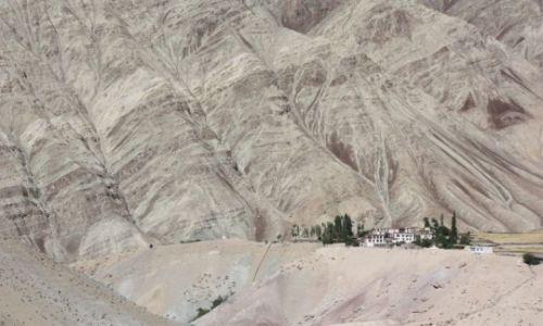 Zdjecie INDIE / Ladakh / Wioska na szlaku Likir - Temisgam / Daleko od szosy
