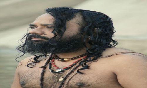 Zdjecie INDIE / Varanasi / Ganges / Modlitwa