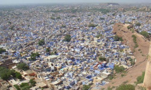 Zdjecie INDIE / brak / Jodhpur Fort  / The Blue City Jodhpur