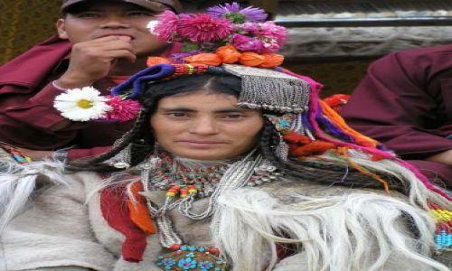 Zdjecie INDIE / Ladakh / Stolica Ladakhu Leh / Ludzie Ladakhu
