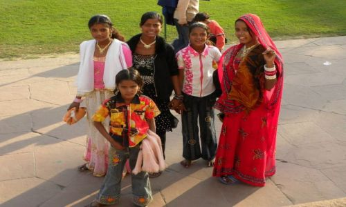 Zdjęcie INDIE / Rajasthan / gdzieś po drodze... / dzieci5