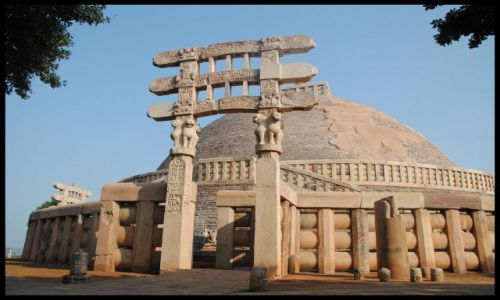 Zdjecie INDIE / Madhya Pradesh / Sanchi / Stupa