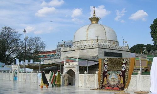Zdjecie INDIE / Radżastan / Ajmer / meczet Bargah