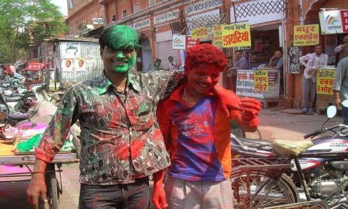 Zdjecie INDIE / Radżastan / Jaipur / święto Holi 3