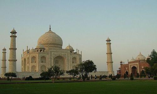 Zdjęcie INDIE / Uttar Pradesh / Agra / Taj Mahal o zachodzie 1