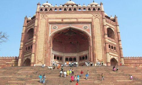INDIE / Uttar Pradesh / Fatehpur Sikri / Brama Zwycięstwa