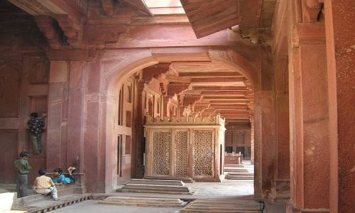 Zdjęcie INDIE / Uttar Pradesh / Fatehpur Sikri / Jama Masjid