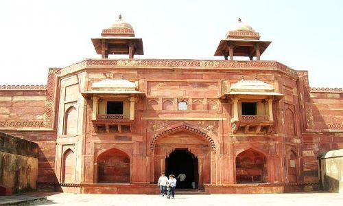 Zdjęcie INDIE / Uttar Pradesh / Fatehpur Sikri / kompleks pałacowy Agbara 1
