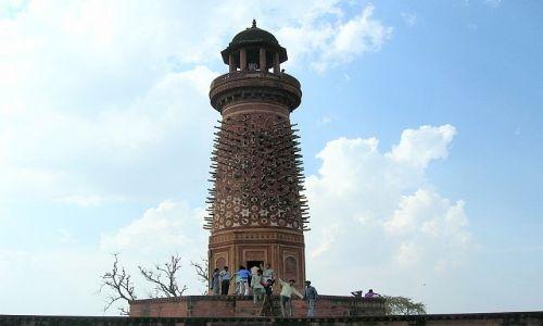 Zdjęcie INDIE / Uttar Pradesh / Fatehpur Sikri / Wieża Jelenia