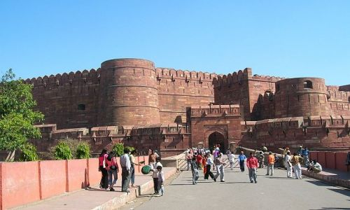 INDIE / Uttar Pradesh / Agra / Fort 1