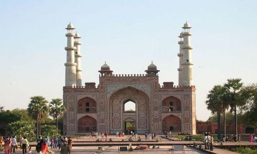 Zdjęcie INDIE / Uttar Pradesh / Sikander / Mauzoleum cesarza Agbara 2